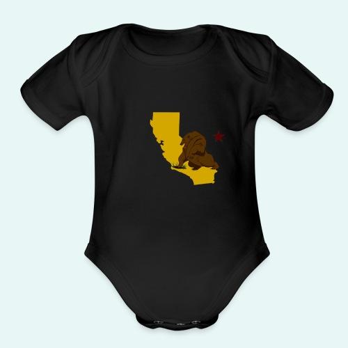 New California - Organic Short Sleeve Baby Bodysuit