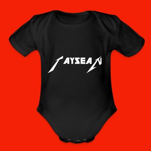 Taysean youth - Organic Short Sleeve Baby Bodysuit