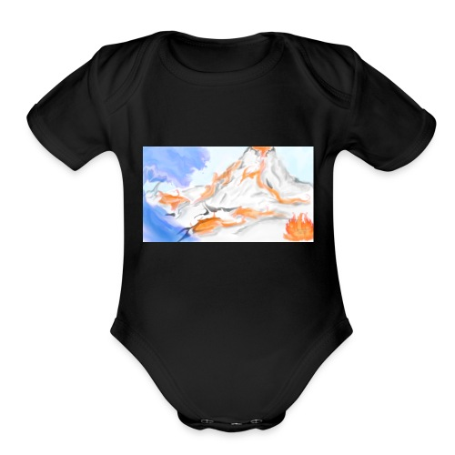 Land - Organic Short Sleeve Baby Bodysuit