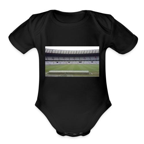 casa do mair de minas mineirao mg cruzeiro - Organic Short Sleeve Baby Bodysuit