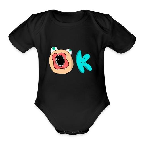OKAY - Organic Short Sleeve Baby Bodysuit