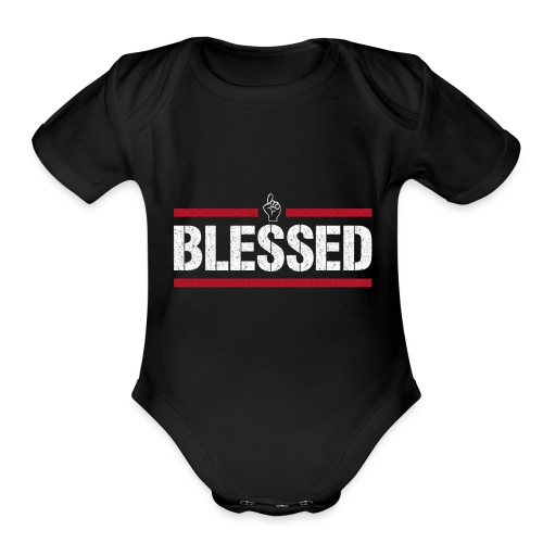 Blessed Tee - Organic Short Sleeve Baby Bodysuit