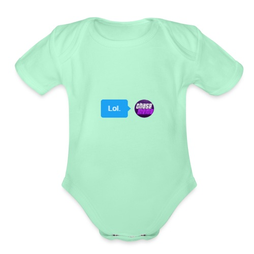 Lol - Organic Short Sleeve Baby Bodysuit