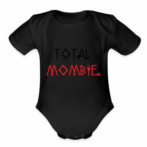 total mombie - Organic Short Sleeve Baby Bodysuit