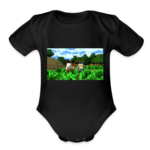 Madily - Organic Short Sleeve Baby Bodysuit