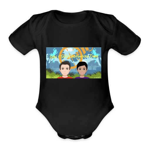 Gabi&sofis adventure time - Organic Short Sleeve Baby Bodysuit