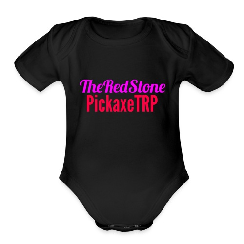 TheRedStonePickaxe - Organic Short Sleeve Baby Bodysuit
