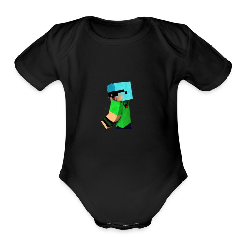 Felipe The Player - Organic Short Sleeve Baby Bodysuit