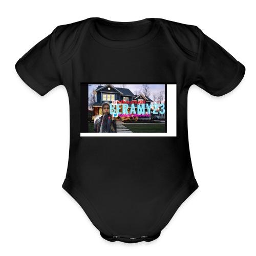 beramy23 - Organic Short Sleeve Baby Bodysuit