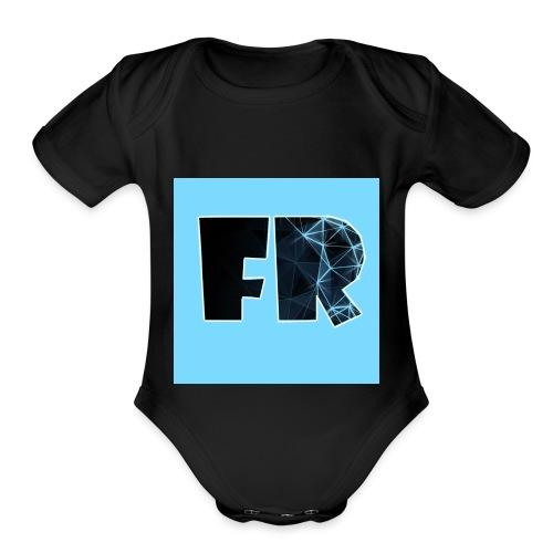 Fanthedog Robloxian - Organic Short Sleeve Baby Bodysuit
