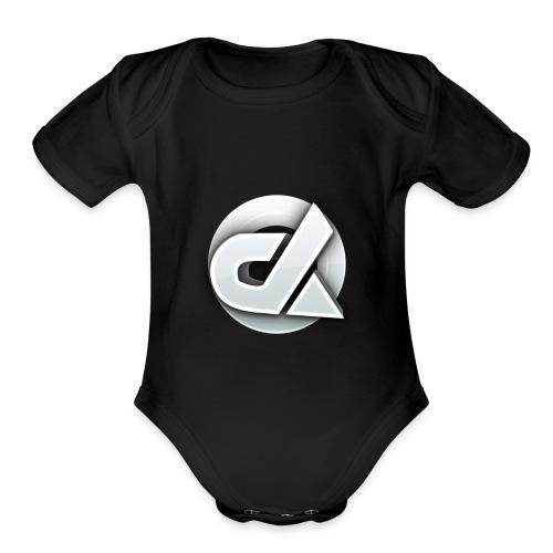 Die Logo - Organic Short Sleeve Baby Bodysuit