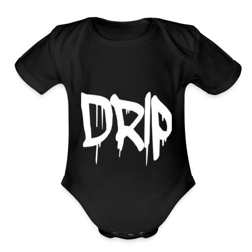 DRIP - Organic Short Sleeve Baby Bodysuit