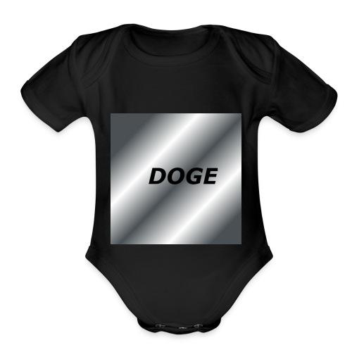 Its so soft - Organic Short Sleeve Baby Bodysuit