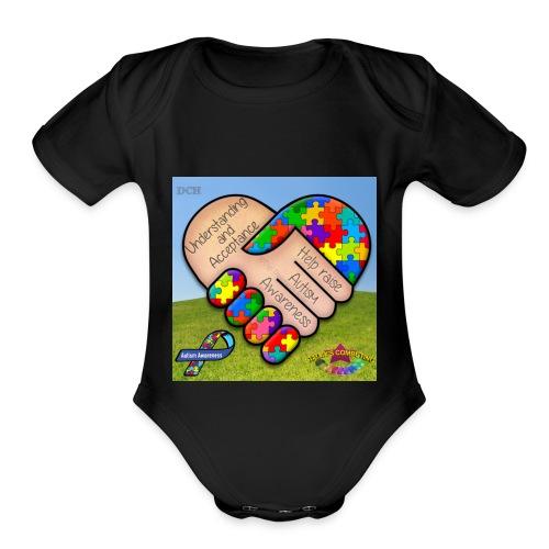 autpro1 - Organic Short Sleeve Baby Bodysuit