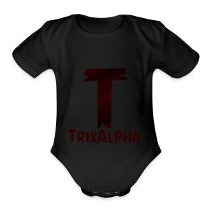 Trix Alpha - Short Sleeve Baby Bodysuit