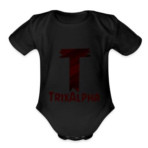 Trix Alpha - Organic Short Sleeve Baby Bodysuit