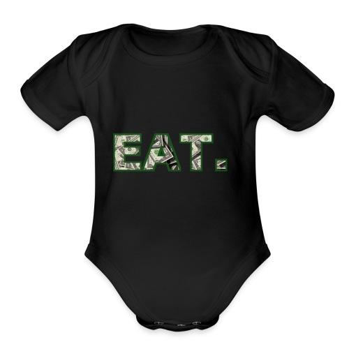 EAT.Dollar - Organic Short Sleeve Baby Bodysuit