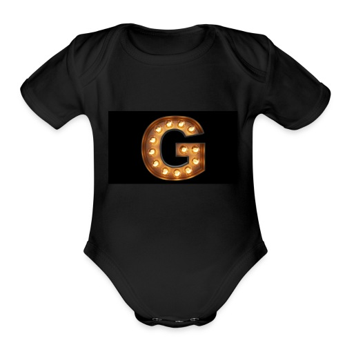your g spot - Organic Short Sleeve Baby Bodysuit
