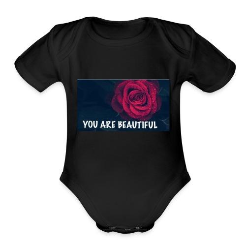 322DFFF3 CD03 424C B14D 24C917F49C18 - Organic Short Sleeve Baby Bodysuit