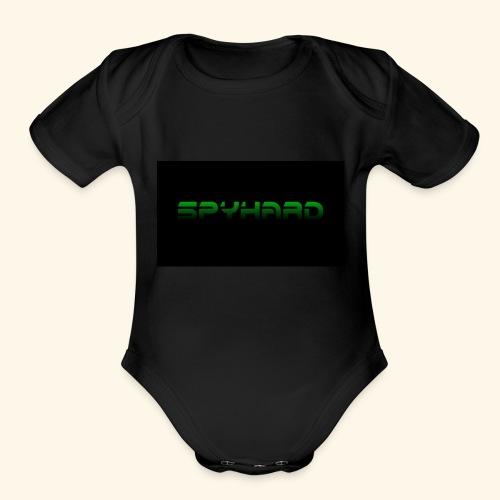 SpyHard - Organic Short Sleeve Baby Bodysuit