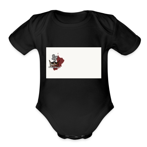 Logo Png edition - Organic Short Sleeve Baby Bodysuit