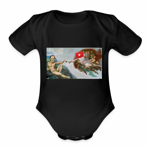 The Breaktrough - Organic Short Sleeve Baby Bodysuit