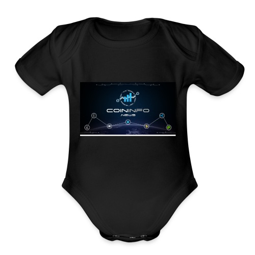 Cryptocurrency - Organic Short Sleeve Baby Bodysuit