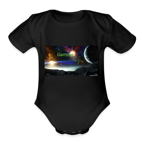 Example1 - Organic Short Sleeve Baby Bodysuit
