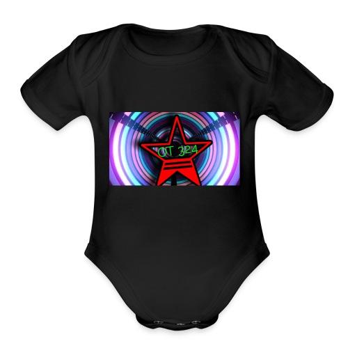 OT324 merch - Organic Short Sleeve Baby Bodysuit