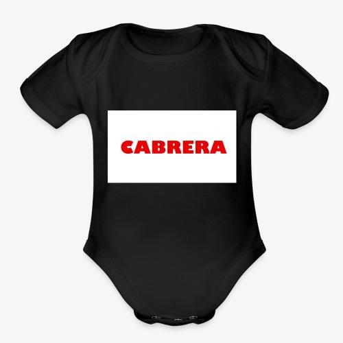 Cabrera shirt - Organic Short Sleeve Baby Bodysuit