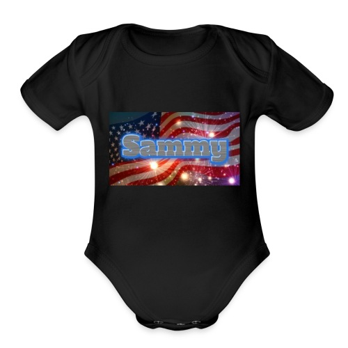 Fourth of July merch - Organic Short Sleeve Baby Bodysuit