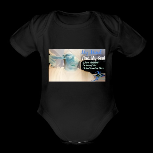 3rd eye quotes - Organic Short Sleeve Baby Bodysuit