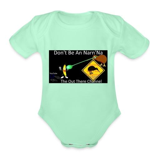 NarnNa1Tshirt - Organic Short Sleeve Baby Bodysuit