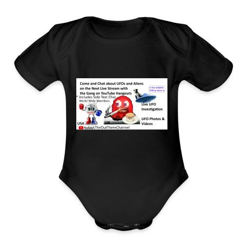 OT Live Stream Tshirt - Organic Short Sleeve Baby Bodysuit