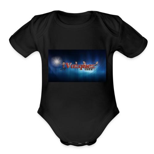630D425A E489 4D14 B643 5120EF294AD2 - Organic Short Sleeve Baby Bodysuit