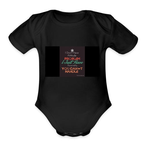 Denver - Organic Short Sleeve Baby Bodysuit