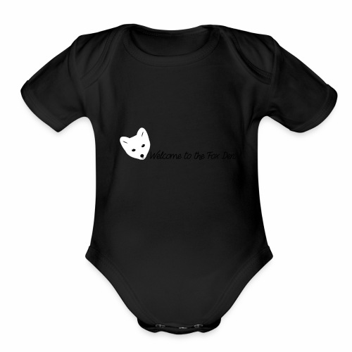 Welcome to the Fox Den! - Organic Short Sleeve Baby Bodysuit