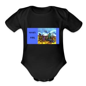 NOAH'S ARK - Short Sleeve Baby Bodysuit
