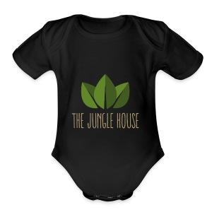 The Jungle House - Short Sleeve Baby Bodysuit