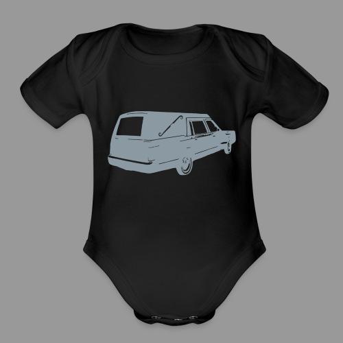 Hearse - Organic Short Sleeve Baby Bodysuit