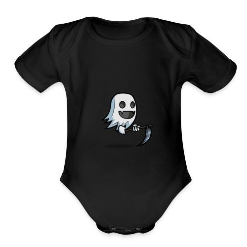 GhostFeeds Merch - Organic Short Sleeve Baby Bodysuit