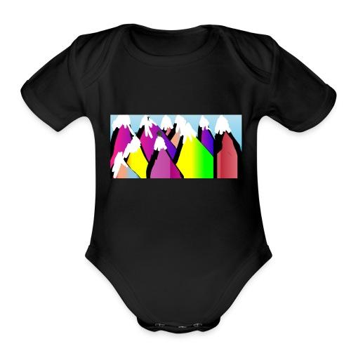 LIVERUNFLY - Organic Short Sleeve Baby Bodysuit