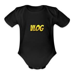 Vloger Merch - Short Sleeve Baby Bodysuit