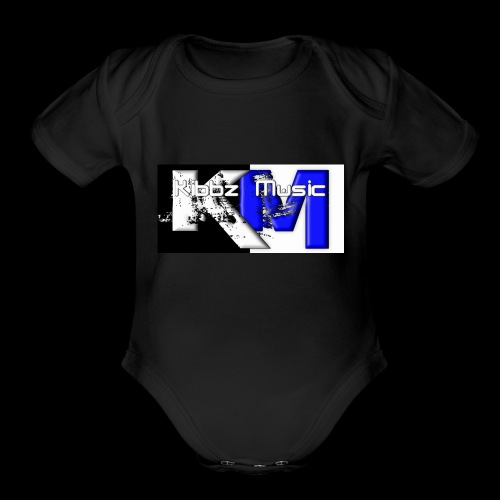 Kibbz Music - Organic Short Sleeve Baby Bodysuit