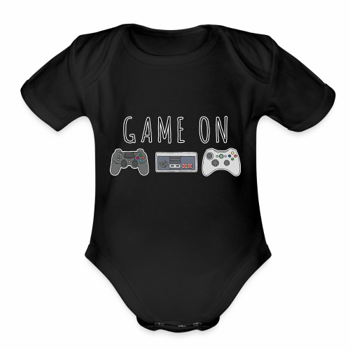 Game On - Organic Short Sleeve Baby Bodysuit