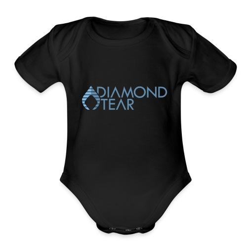 Diamond Tear - Organic Short Sleeve Baby Bodysuit