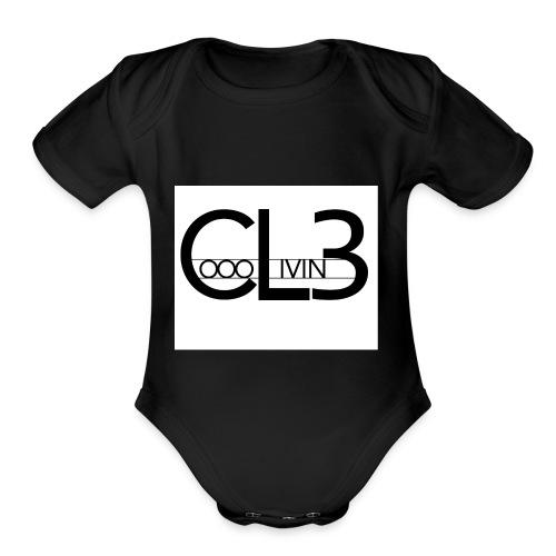 C.L.3 - Organic Short Sleeve Baby Bodysuit