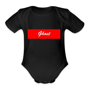 Ghost Banner merch - Short Sleeve Baby Bodysuit