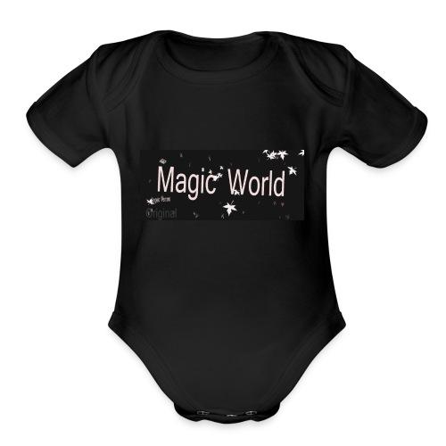 angelo Vernom - Organic Short Sleeve Baby Bodysuit