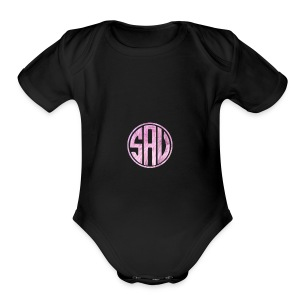 SAV404 1 - Short Sleeve Baby Bodysuit